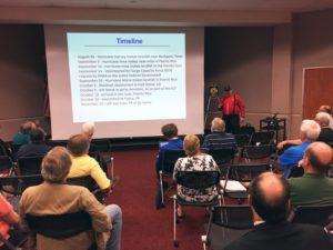 July meeting presentation by KM4UWO on Puerto Rico deployment